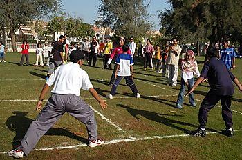 Permainan Jalur Jalur Seluncur Enaw Jadi Andalan Riau Di Festival Olahraga Tradisional
